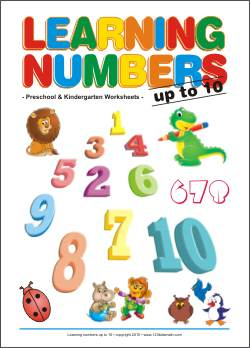 Learning numbers for preschool children