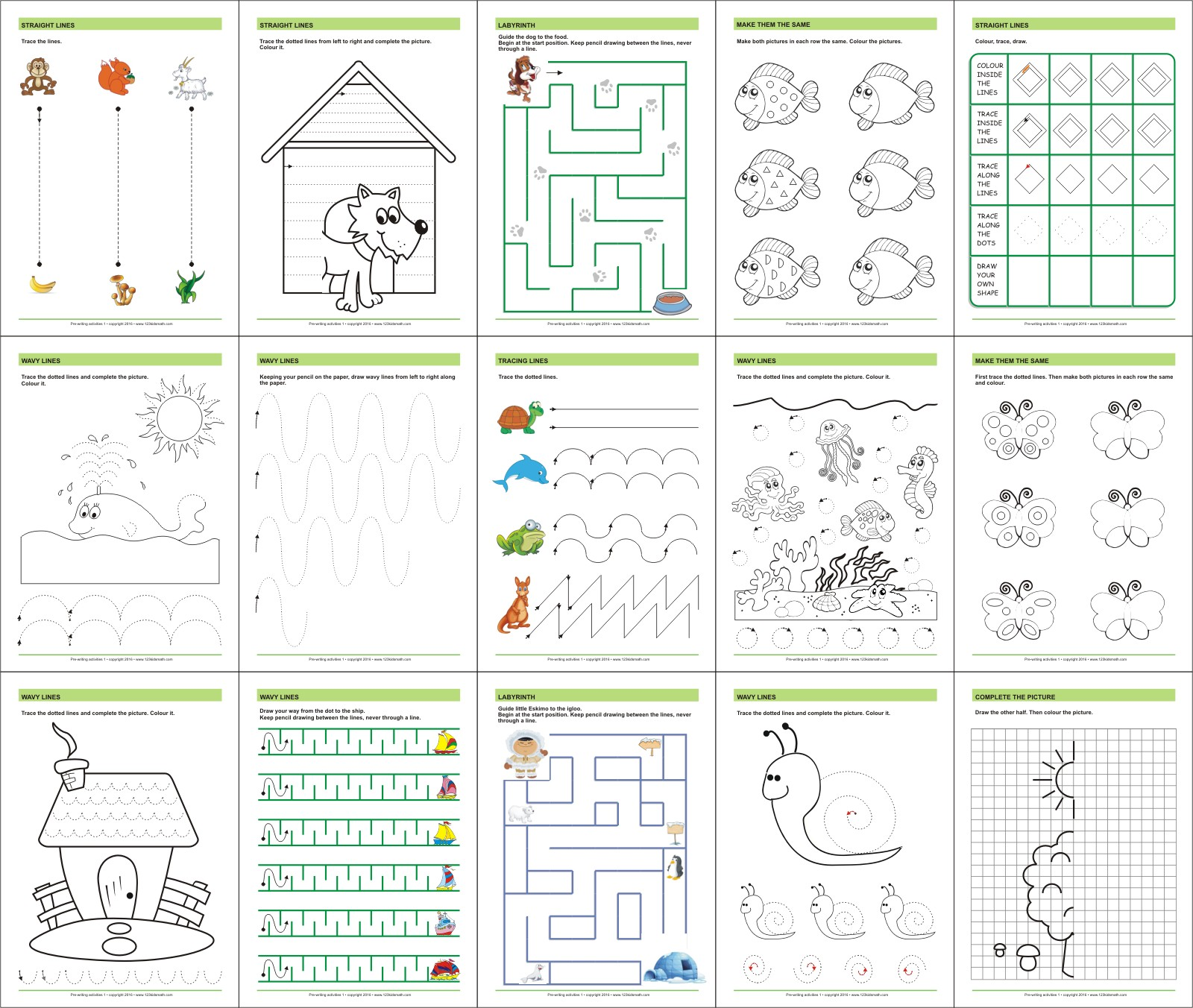 pre writing activities Little dots education is a resource website for teacher and paents of preschoolers on our site you can find high-quality teaching materials and printables.