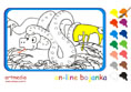 Online coloring game | The Snake
