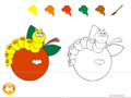 Colouring game Online