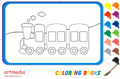 Online coloring game | Little Train