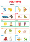 Opposites for preschool kids