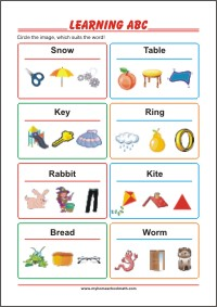 Prereading activities - Free Printable Preschool Worksheet