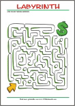 Labyrinth - free printables for kids