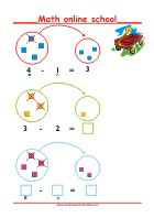 Simple Subtraction - Math Worksheets 1st Grade