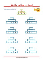 Addition up to 20 - Math Worksheets 1st Grade