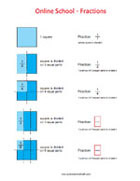 Fractions - Math Worksheets 3rd Grade