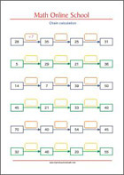 Addition and Subtraction - Math Worksheets 2nd Grade