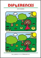 Find 10 Differences - Free Spot the Difference Printables