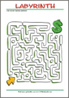 Printable Maze - Find your way through...