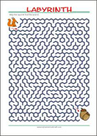 picture about Printable Mazes Hard called Free of charge printable Mazes for Youngsters - Very simple towards Demanding - MyHomeSchoolMath