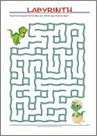 Free Printable Maze for Kids - Find your way through...