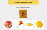 Reading game - Where do you hear the sound?