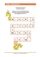 Mixed operations - Addition, Subtraction, Multiplication, Division - Math Worksheets 2nd Grade