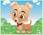Online Jigsaw Puzzle - Cute Little Dog