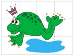 Online Puzzle Game - Frog