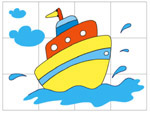 Online Puzzle Game - Boat