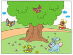 Online Puzzle Game - Tree