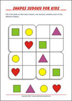 Sudoku for kids - Logic Riddles