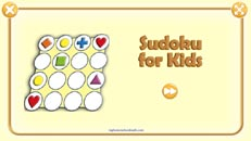Free online Sudoku Game for Kids with pictures