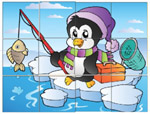 Little Penguin - Online Jigsaw Puzzle - Easy
