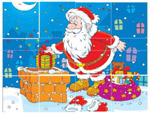 Santa - Online Jigsaw Puzzle - Easy