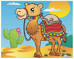 Online Jigsaw Puzzle - Camel