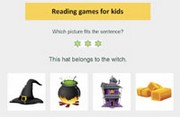 Which picture fits the sentence? - Online Prereading Game
