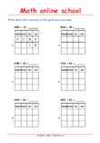 Addition up to 10 000 Place Value Math Worksheet 3rd grade